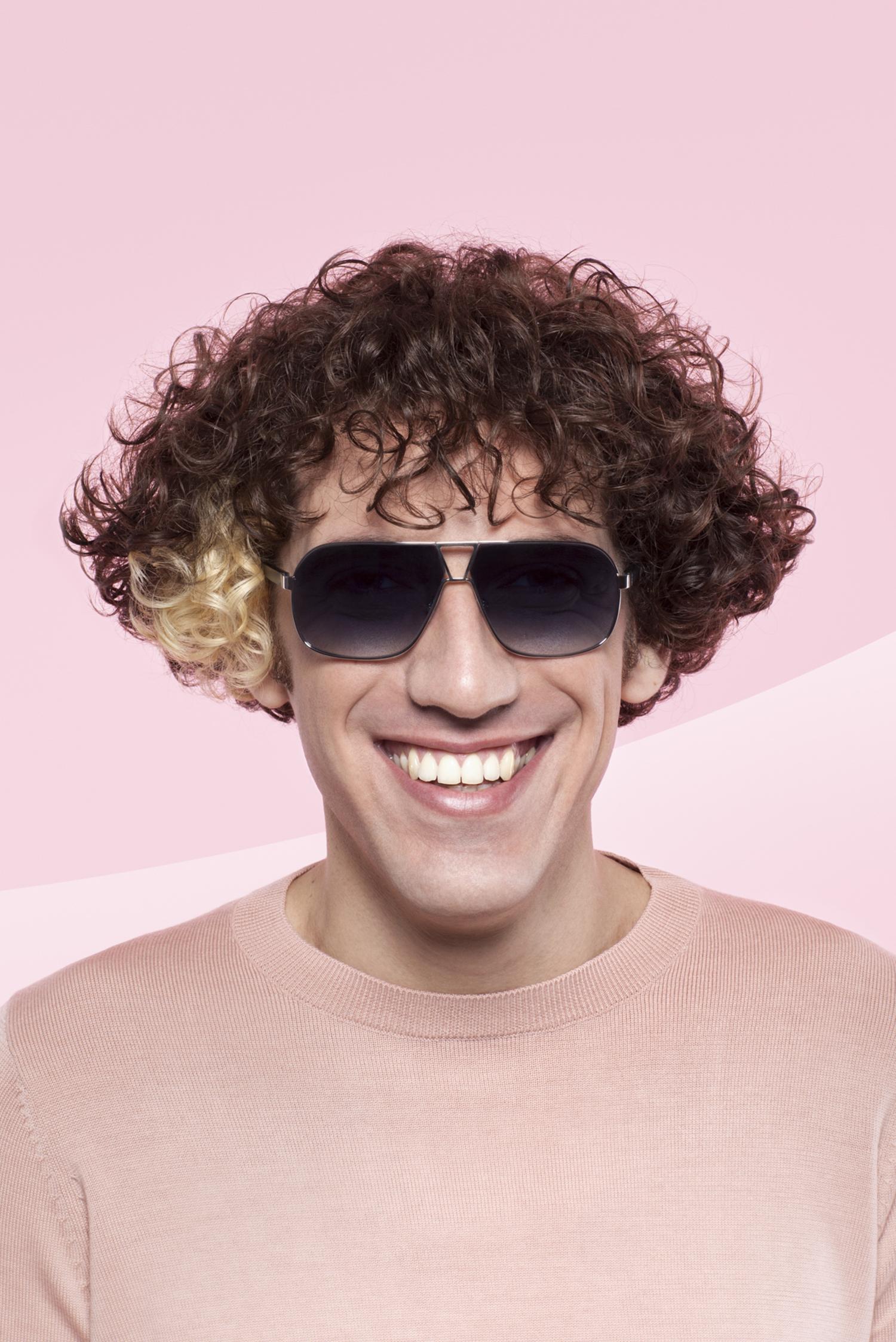 uomo rosa